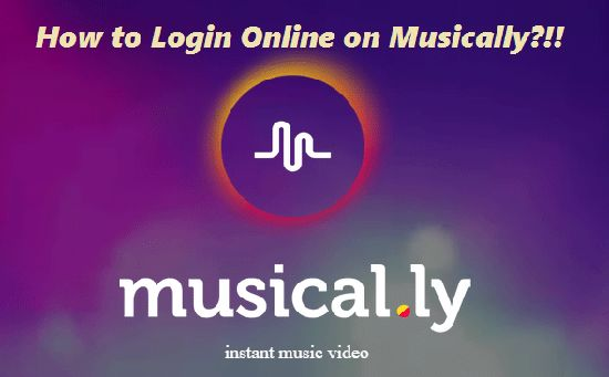 Musical.ly Login & Sign In steps