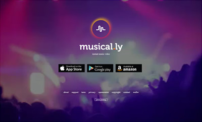 Musical.ly Online signup